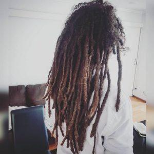 removing dreadlocks before and after