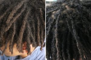 Mixed afro hair dreadlocks maintenance Brisbane