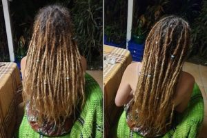 Brisbane Dreadlocks maintenance before after