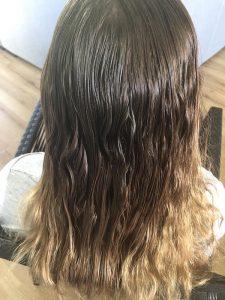 Detangling matted hair Brisbane after