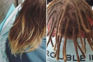 Starting dreadlocks shoulder length