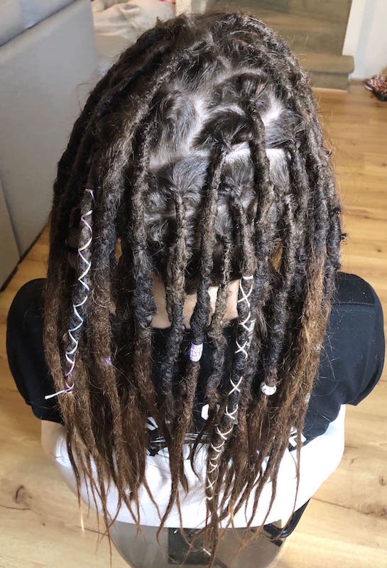Dread maintenance long hair Brisbane