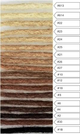 dreadlock-extensions-color-chart-natural Brisbane