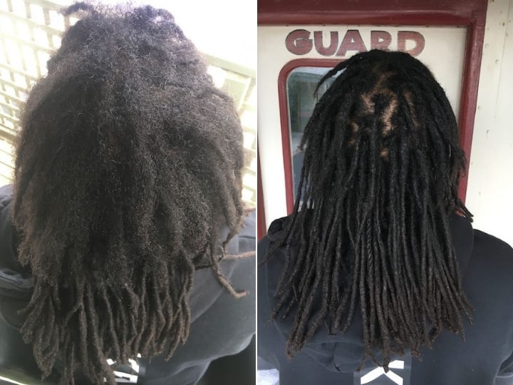 Dreadlocks Reconstruction Brisbane