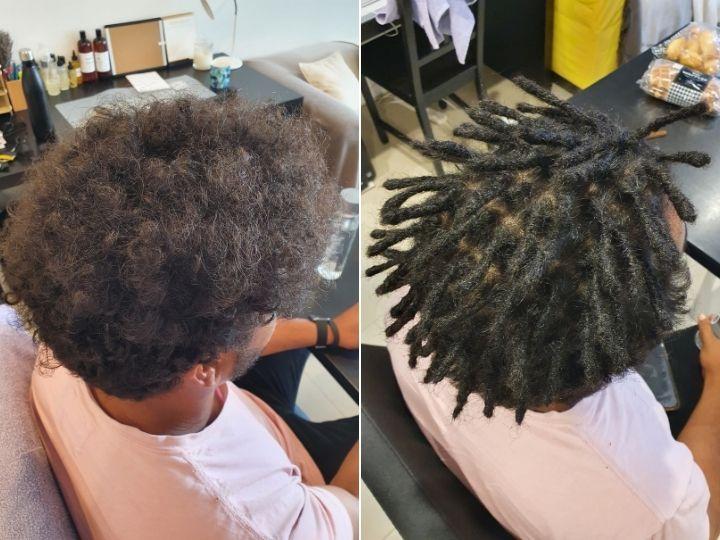 afro hair black dreadlocks Brisbane