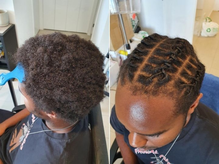 To start afro how hair dreadlocks How to