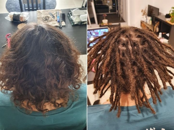 dreadlocks creation in Brisbane