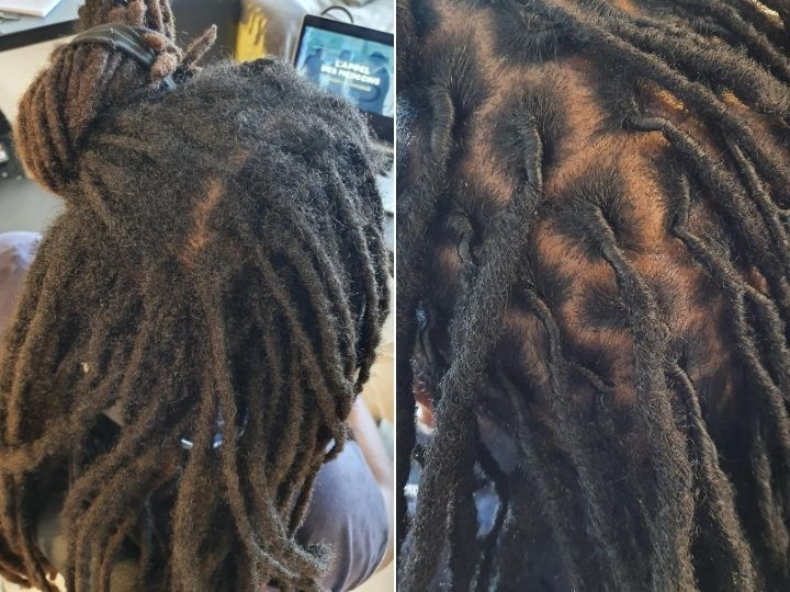 retwist afro hair brisbane dreadlocks