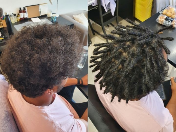 Instant dread creation brisbane dreadlocks afro hair black